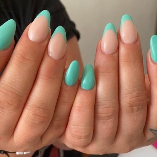 manicure by french styles